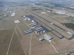 Cleburne Airport Ramp & West Parking Lot